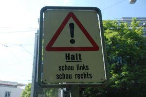 HALT sign